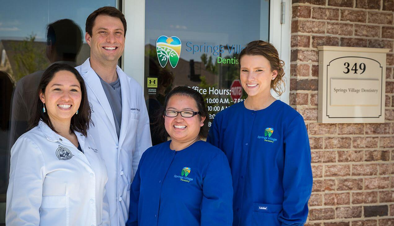 Springs Village Dentistry staff