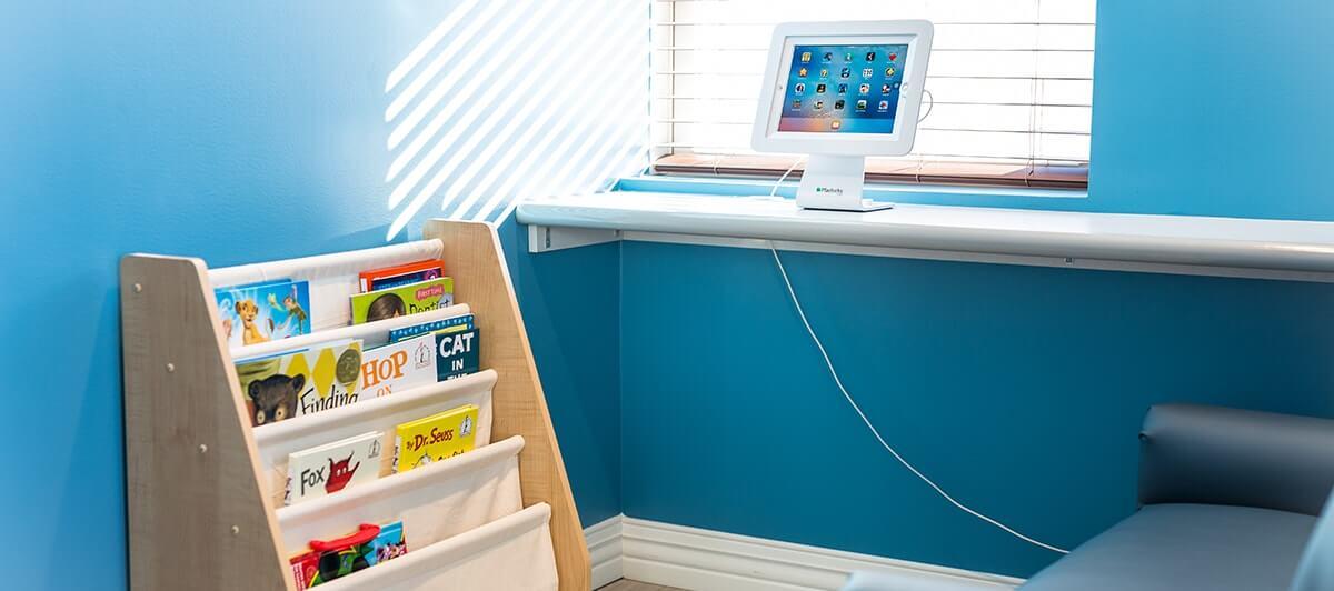 Springs Village Dentistry kids amenities